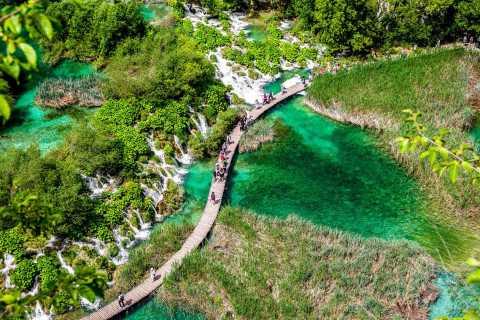 Van Zagreb: Plitvice-meren dagtour