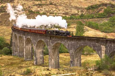From Inverness: Jacobite Steam Train and Highlands Tour