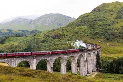 Depuis Inverness: excursion Highlands et train Jacobite