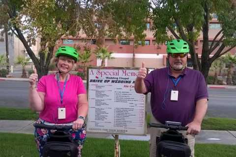 Las Vegas: 90-Minute Guided Evening Segway Tour of Downtown