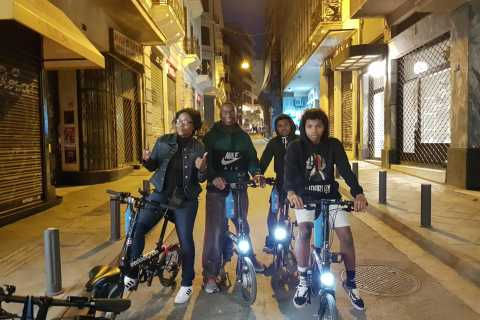 Athens: Electric Bike Night Tour