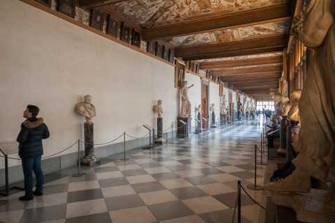 Galleria degli Uffizi: ticket zonder wachtrij en audio-app