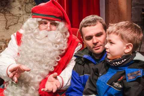 Rovaniemi: moto de neve para o Papai Noel
