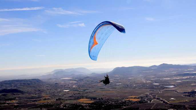 Alicante: vuelo en parapente en pareja