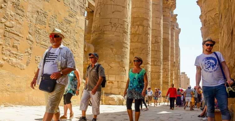 Vanuit Makadi Bay: privérondleiding naar Luxor