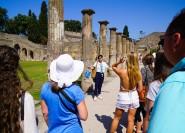 Von Sorrent: Halbtägige Tour ohne Anstehen nach Pompeji
