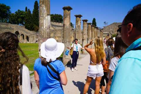 From Sorrento: Pompeii Half-Day Skip-the-Line Tour