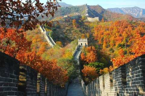 Mutianyu Great Wall & Ming Tombs Bus Tour