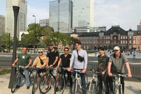 Tokyo: 5-Hour Historical Cycling Tour with Lunch