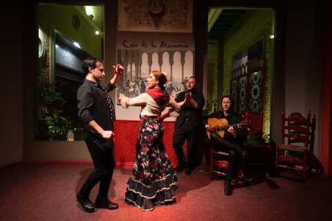 Seville: Casa de la Memoria Flamenco Show