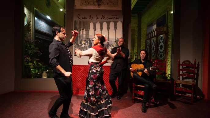Sevilla: espectáculo de flamenco en Casa de la Memoria