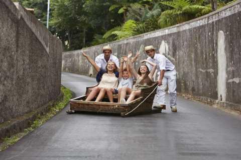 Madeira: 3-Hour Monte Sightseeing Tour & Toboggan Sled Ride