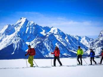 Grand Teton National Park: 4-stündige leichte Schneeschuhtour