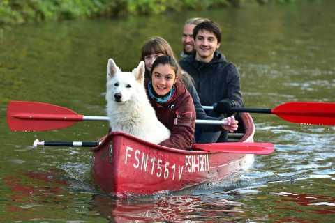 Leipzig: Karl-Heine-Canal 2-Hour Canoe Tour