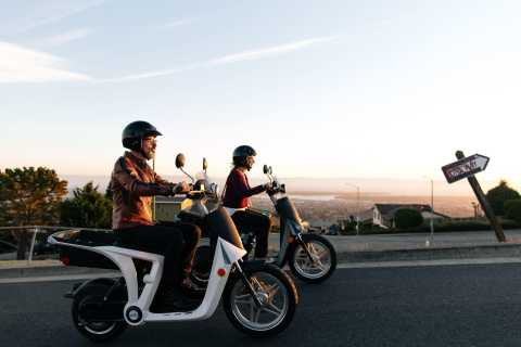 Monterey: Scenic Half-Day Self-Guided Electric Scooter Tour
