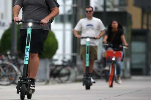 Zagreb: zelfgeleide e-scooter tour