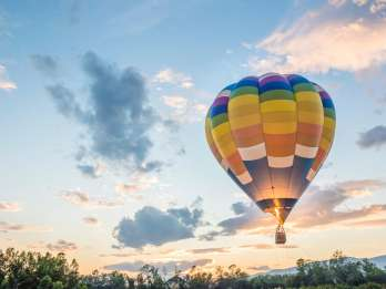 Philadelphia: Bucks County Landschafts-Heißluftballonfahrt