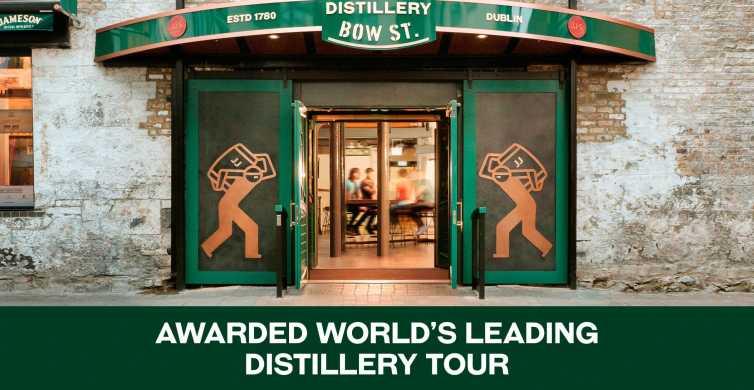 Dublín: tour y degustación en la destilería Jameson Whiskey