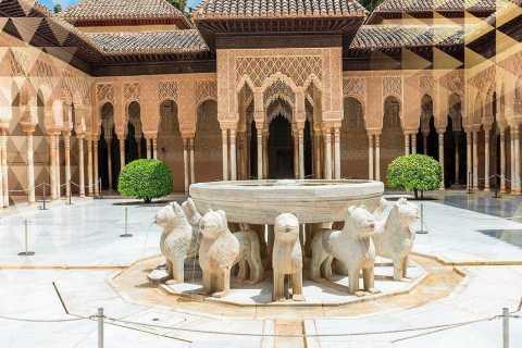 Alhambra: ingresso e tour guidato da Siviglia