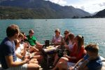 Lake Annecy: Private Wine Tasting Cruise