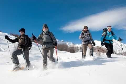 Chamonix-Mont-Blanc: Randonnée privée en raquettes Winter Dreamland
