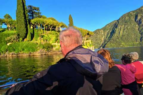 Lake Como: Venetian-Style Boat Cruise in Small Groups