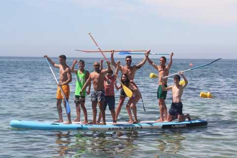 Armação de Pêra: Mega Stand Up Paddle Board Group Experience