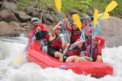 San Jose: Sarapiqui Class 3&4 Rafting to La Fortuna Arena