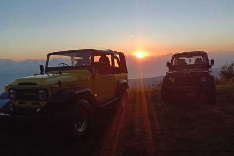 Mount Batur: Private Sunrise Jeep Tour & Natural Hot Spring