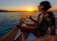 Ab Sorrent: Bootstour nach Capri am Tag und Abend
