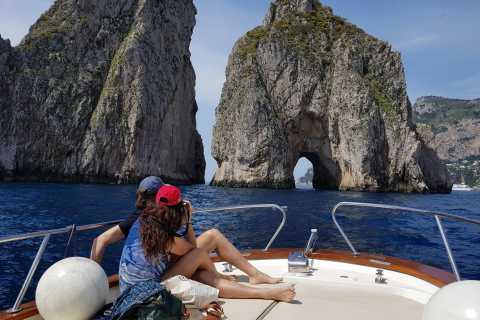 Capri by Boat from Massa Lubrense