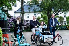 Copenhague: descubra Copenhague em um passeio de bicicleta de 2 horas