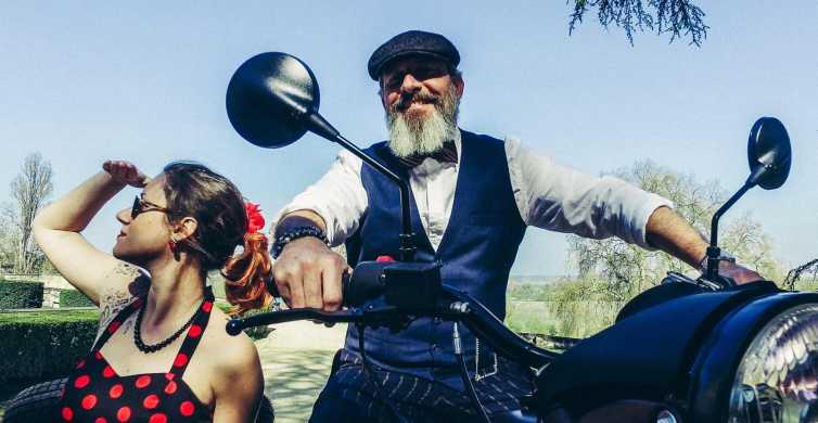 Au départ de Tours: balade rétro en Sidecar classique