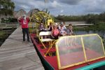 Miami: Half-Day Everglades Tour in French