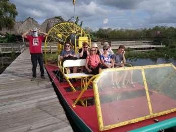 Miami: Halbtägige Everglades-Tour auf Französisch