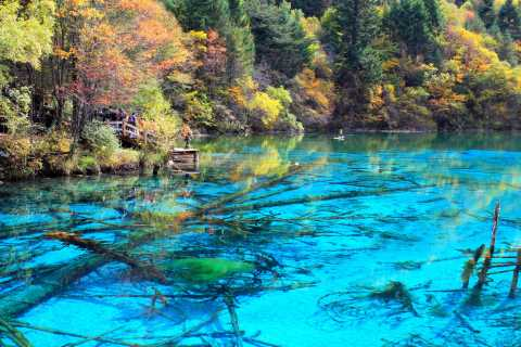 From Chengdu: 4-Day Private Jiuzhaigou & Tibet Tour