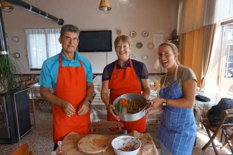 Rhodes: Cooking Lesson and Wine Tasting