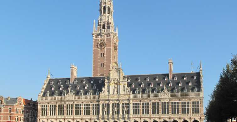 From Brussels: Medieval Leuven Walking Tour