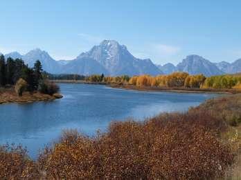 Jackson: Halbtägige Kleinbustour zum Grand Teton National Park
