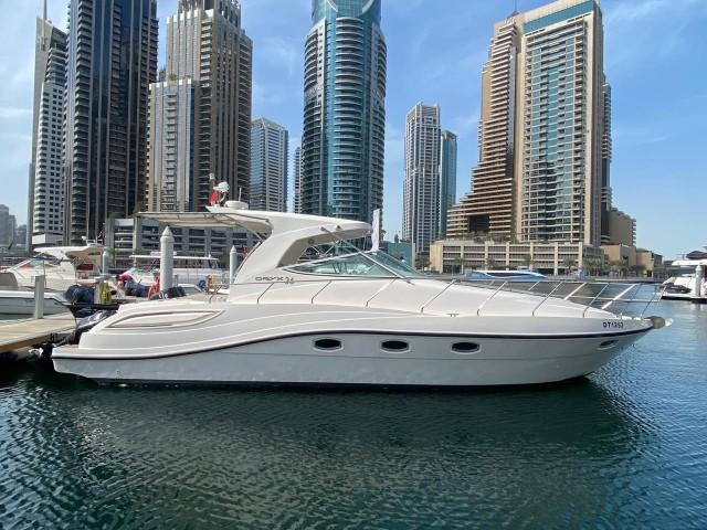 Dubai Marina: 2 boottocht met mini jacht