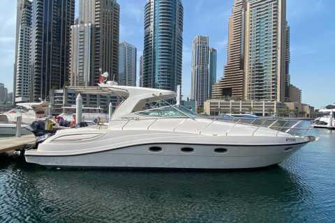 Dubai Marina: 2 timers tur i mini-yacht