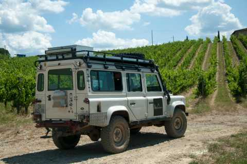From Florence: Tuscan Off-Road Wine Tour with Lunch and More