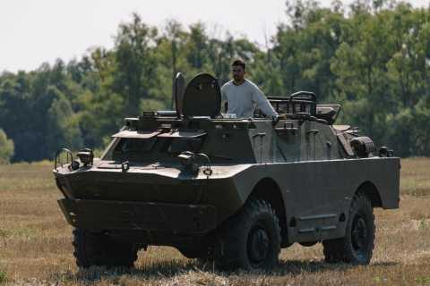 Kiev: BDRM-2 Military Driving Experience