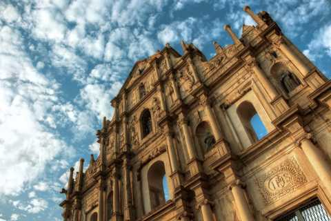 Macau: 1.5-Hour Ruins of St. Paul's and Historic Center Tour