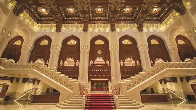 Muscat: Night Tour met audiogids & diner in Opera House