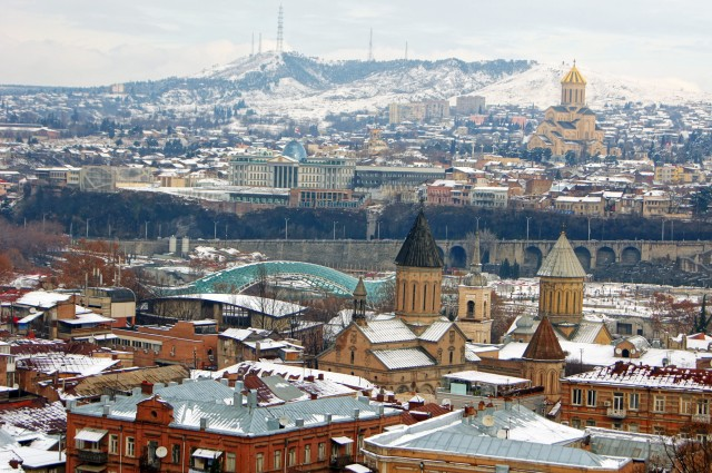 Tbilisi, Mtskheta & klooster Volledige dag privétrip