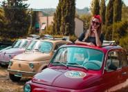 Ab Florenz: Selbstfahrer Fiat 500 Tour