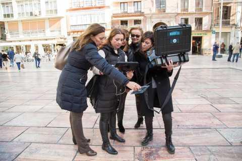 Malaga: Adventure City Game mit Augmented Reality