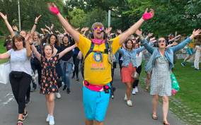 Newcastle: Silent Disco Adventure Tour