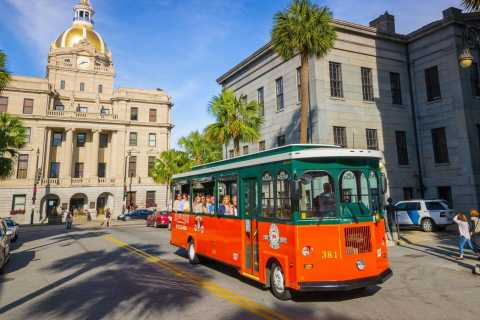 Savannah: Hop-On Hop-Off Trolley Tour